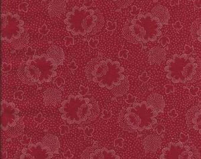 Dutch Heritage Tonal - Red - 1/2yd