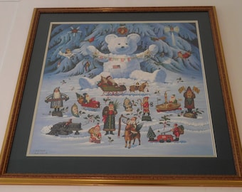 Original Lithograph by Charles Wysocki, 68 of 5000, 1990