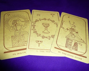 5-card Tarot Reading- Egyptian Deck