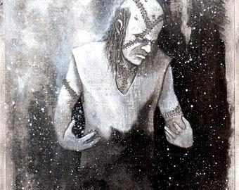 The Monster (Original Illustration)