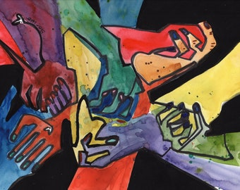 Our Hands (Original Painting)