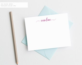 Personalized Stationery | Personalized Stationary | Monogram Stationery | Monogram Note Cards | Personalized Monogram Stationary