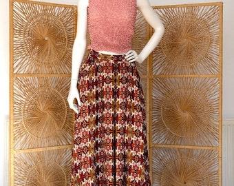 ON SALE Aztec Mid Length Skirt