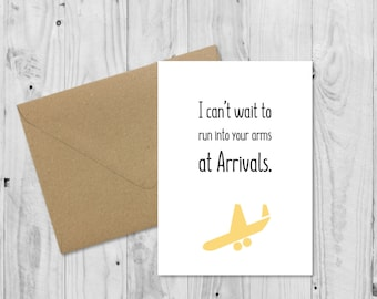Long Distance Relationship Card, LDR Card, Funny Boyfriend Card, Girlfriend Card, Birthday Card, Anniversary Card, Valentines Card