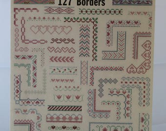 Counted Cross Stitch Pattern | Border Collection