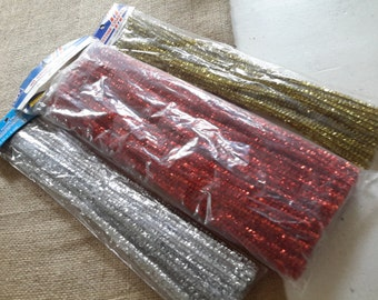 Crafting Metallic Pipe Cleaners