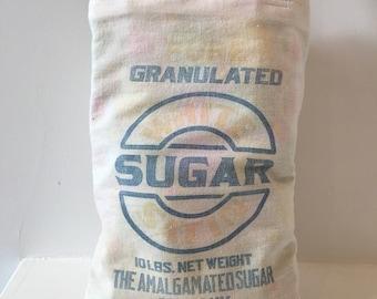 Vintage Sugar Sack Bag/ Purse/ Lunch Bag