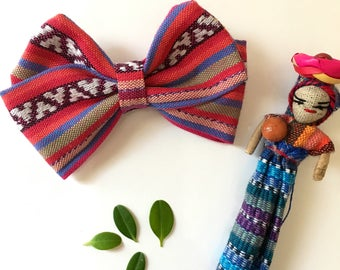 Chisec - Blue and Pink Ribbon Bow