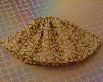 Blythe / DAL Skirt - The Metallic Series - Gold Two