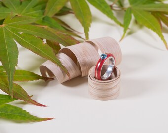 Bentwood Ring 'Ironman'