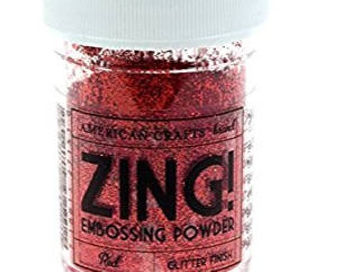 Zing embossing powder
