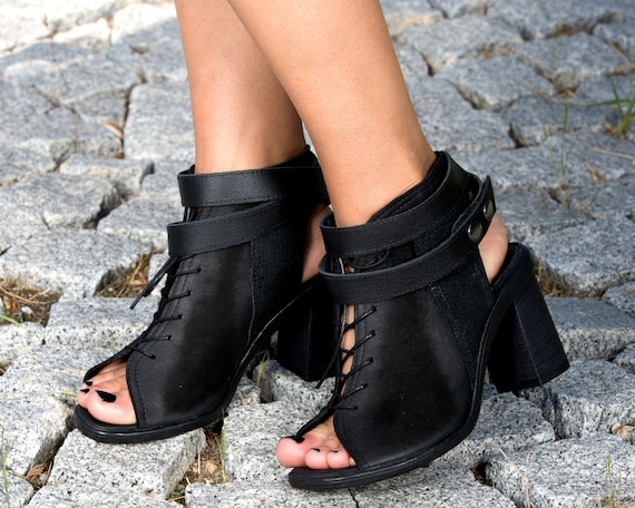 summer boots genuine woman woman leather summer summer extravagant genuine leather boots Black leather boots genuine sandals leather zqx7Y
