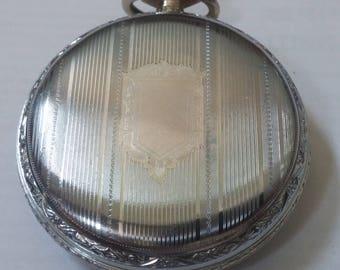 1887 Elgin pocket watch, size 16 (16s01)