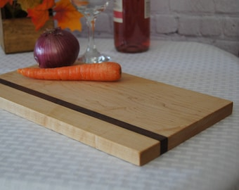 CB01 - Custom-Made Cutting Board 8x13 Maple