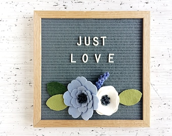 NEW Felt Letter Board Flowers - Add-ons for Felt Letter Boards - Decor for Photo Props, Parties, Showers and Every Day