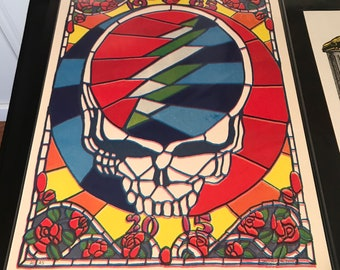 Grateful Dead GD50 Screen print poster fare thee well