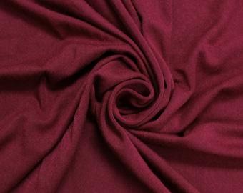 Ruby Heavyweight Rayon Jersey Spandex Knit Fabric by the Yard - 1 Yard Style 406