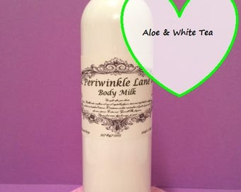 Aloe & White Tea Body Milk / Wet Skin moisturizer