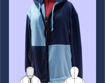 Colour Block Hoodie Sewing Pattern