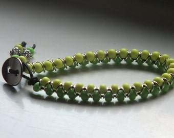 Two-tone Goddess Bracelet