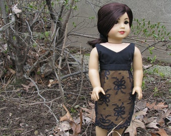american girl doll dress: belladonna