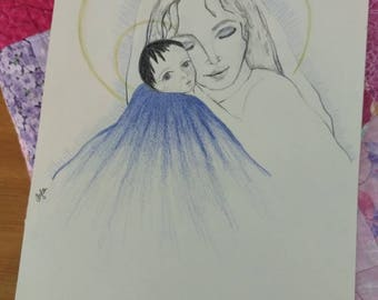 The Virgin Mary and the Christ Child
