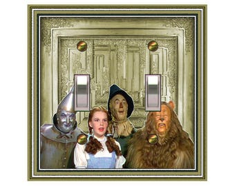 0656x Wizard of Oz - mrs butler switch plate covers - choose sizes / prices from drop down box