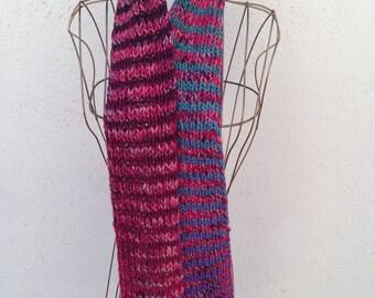 17023 - Handknit scarf