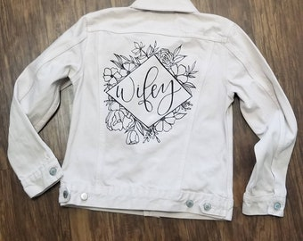 Wifey Jacket Etsy