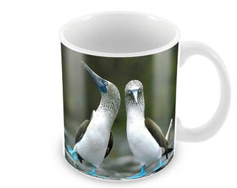 Blue Footed Booby   Ceramic Coffee Mug    Free Personalisation