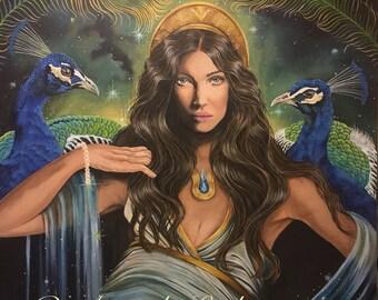 Goddess Hera/Juno Greeting Card