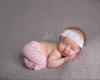 Newborn Pants, Newborn Pant Set, Newborn Lace Pants, Newborn prop, baby photo prop, Newborn Photo Prop, Newborn Leggings, newborn baby girl