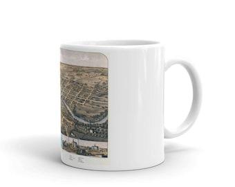 South Bend Indiana 1866 - Coffee Tea Mug