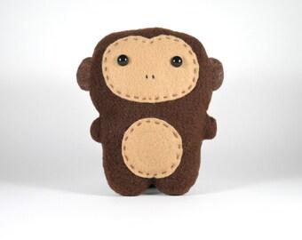 Monkey Fleece Plush Toy