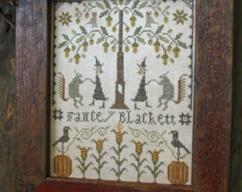 Cross Stitch - Fancey Blackett's Harvest Dance- Choose Pattern Only or Pattern with Floss Kit
