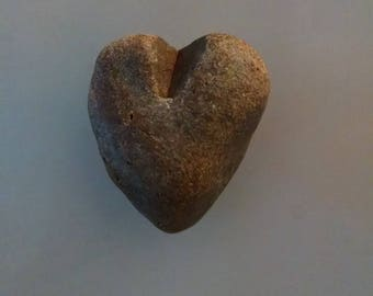 Heart Rock Magnet