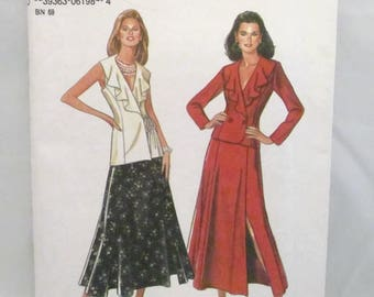 New Look 6198 Skirt and Jacket UNCUT