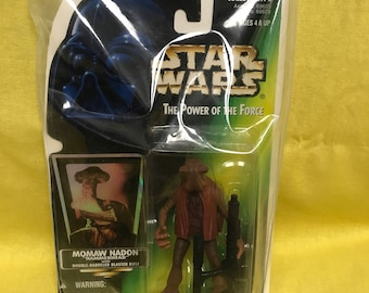 "Starwars Momaw Nadon ""HammerHead"" Kenner Action Figure"
