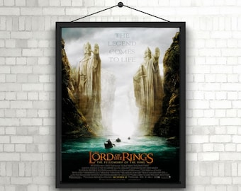 The Lord Of The Rings The Fellowship Of The Ring unique Poster