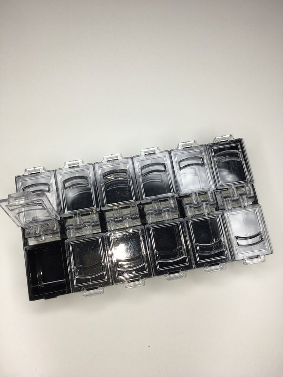 Black and clear plastic nail art storage box. from Nailsplay on Etsy ...
