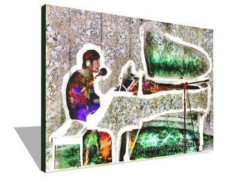John Lennon Imagine 1971 100% Cotton Canvas Print Using UV Archival Inks Stretched & Mounted