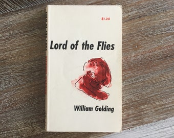 Lord of the Flies by William Golding (Capricorn Books, c. 1960s)