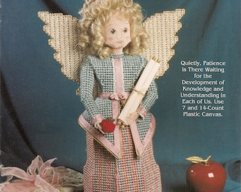Plastic Canvas Craft Patterns Heavenly Messengers PATIENCE Plastic Canvas book