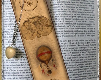"Laminated bookmarks ""Steampunk"" cheap gift idea"