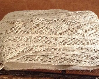 Over 15 Yards of Antique Handmade Lace