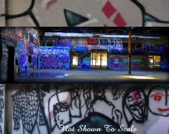 Graffiti Art Canvas, Graffiti Art, Graffiti, Graffiti on Canvas, Street Art, Graffiti Wall Art, Industrial Wall Art, Large Graffiti Art