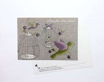 "Postcard ""Soar"""