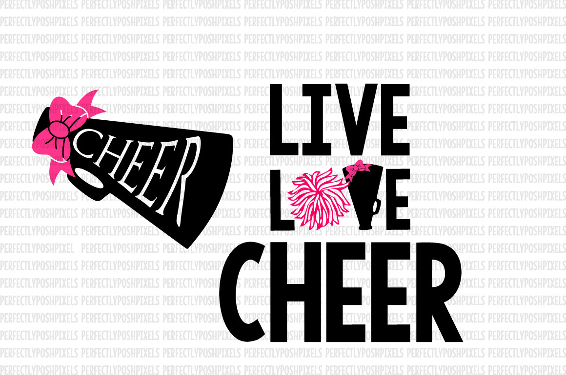 Cheer Megaphone Svg Cheerleading Svg Svg For Cricut Design