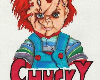 Chucky Fan Art