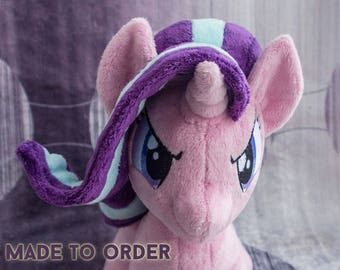 Plush Pony Starlight Glimmer - Stuffed Toy - Made to Order